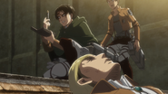 Levi prepares the injection