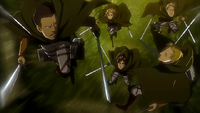 Special Operations Squad and Eren