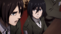 Eren discourages relying on the rumbling