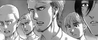 Mikasa, Armin, Connie und Jean werden freigelassen.png