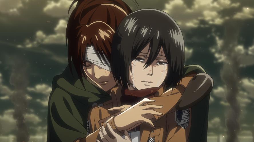 Hanji hält Mikasa fest.png
