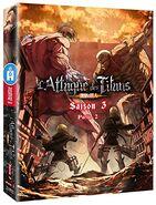 L'attaque des titans - DVD Saison 3 - Partie 2 édition collector