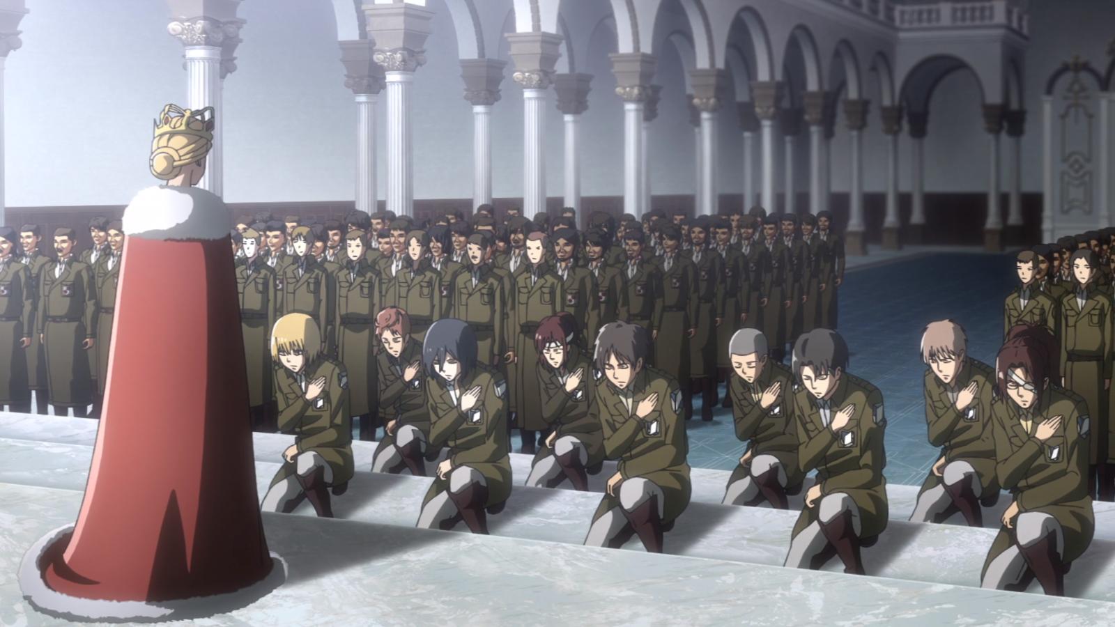 Die Soldaten knien vor Historia nieder.png