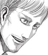 Erwin's reaction to Hange's theory