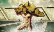 Il Gufo distrugge la nave