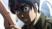 Eren sees Grisha's memories in the Reiss Chapel