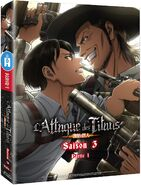 L'attaque des titans - DVD Saison 3 - Partie 1