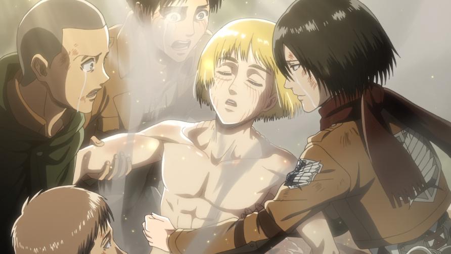 Armin wird aus dem Titanenkörper gebogen.png