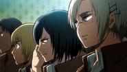 Mikasa is not amused