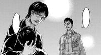 Grisha holds Eren