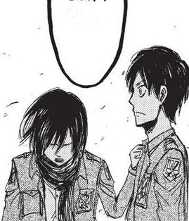 Mikasa sorgt sich um Eren Manga.png