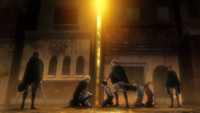 Levi and Erwin make a deal