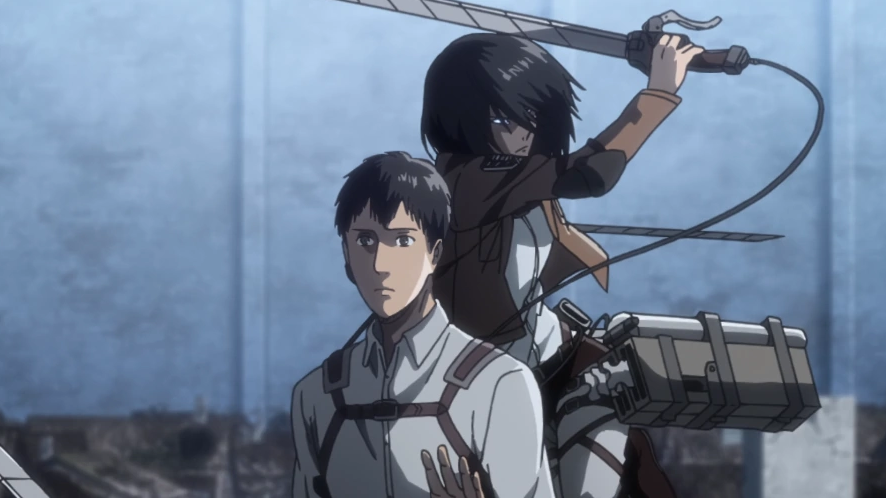 Mikasa greift Berthold an.png