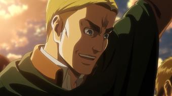 Erwin Smith Anime Attack On Titan Wiki Fandom