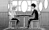 Eren and Historia talk