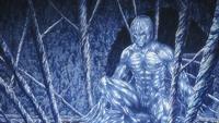 Eren's hardened Titan