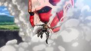 Eren vs Titan Colossal(2)