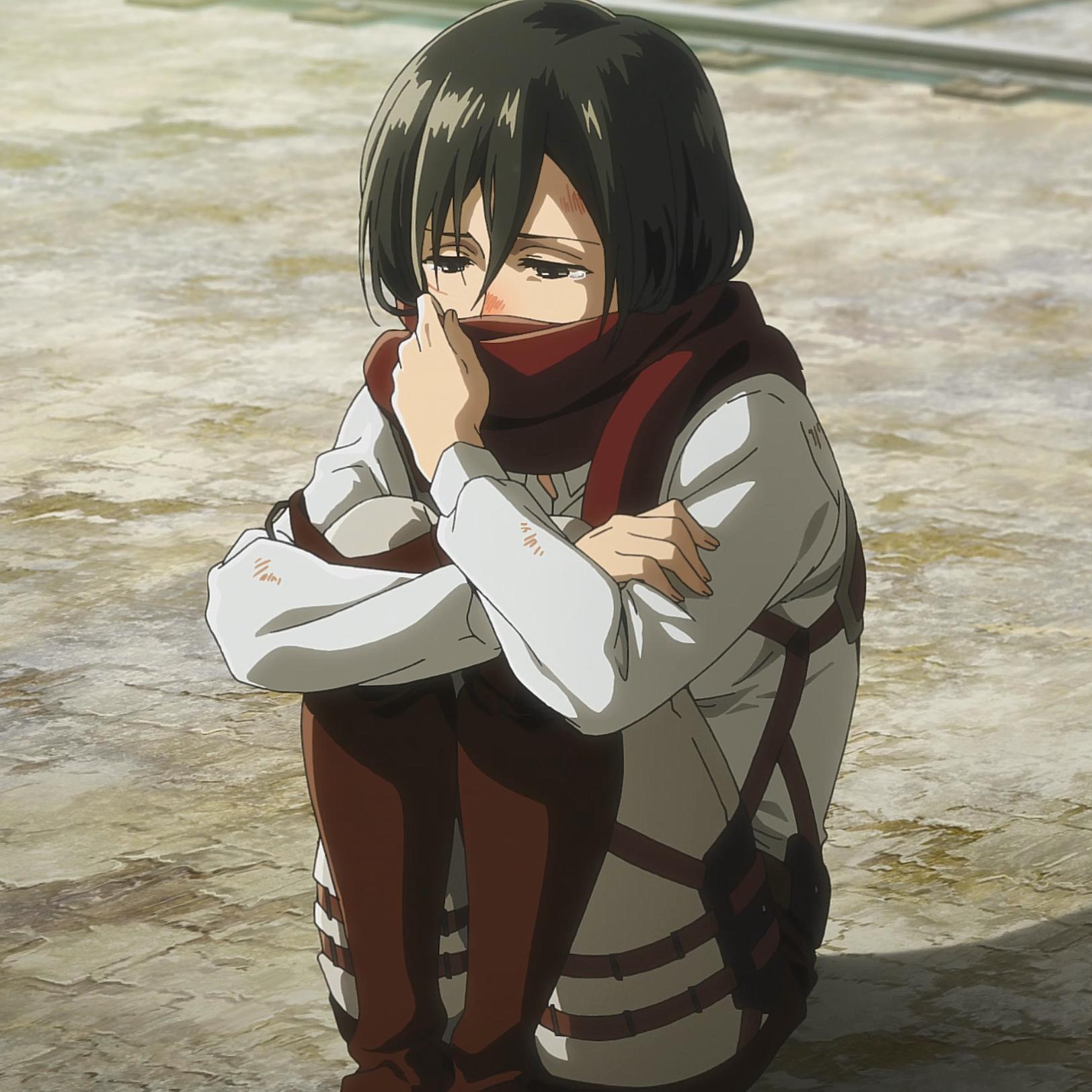 Mikasa bedauert es Eren nicht geholfen zu haben.png