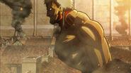Vue de profil du Titan Cuirassé