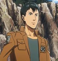 Bertholdt as a cadet