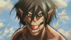 eren titan form head Eren Jaeger (Anime)  Attack on Titan Wiki  Fandom