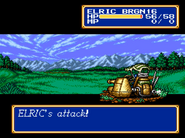 Brass Gunner Elric Shining Force II