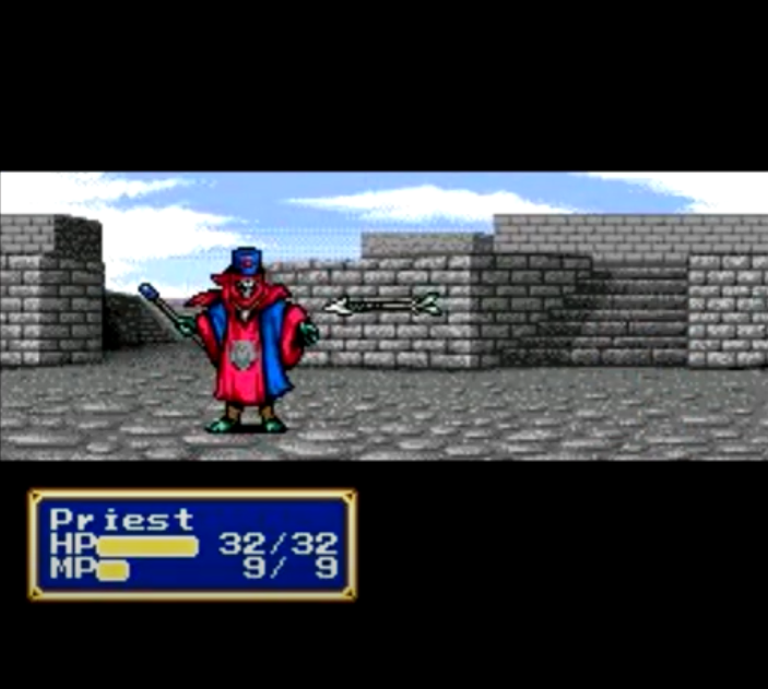Priest (Shining Force CD enemy)
