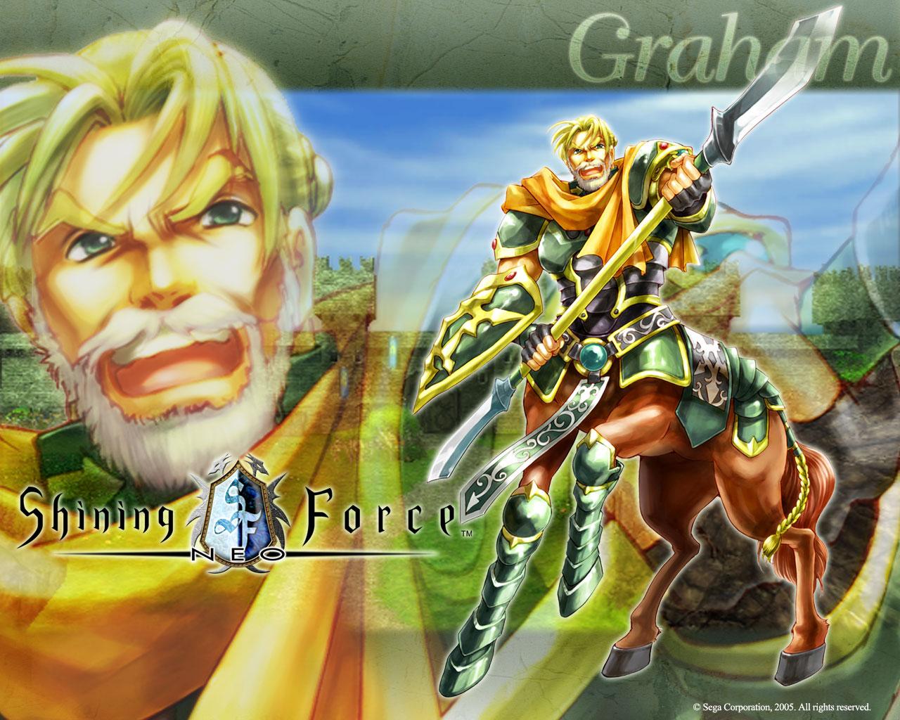 Graham (Shining Force Neo)