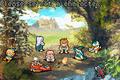 Shining Soul II Character Selectioon Screen