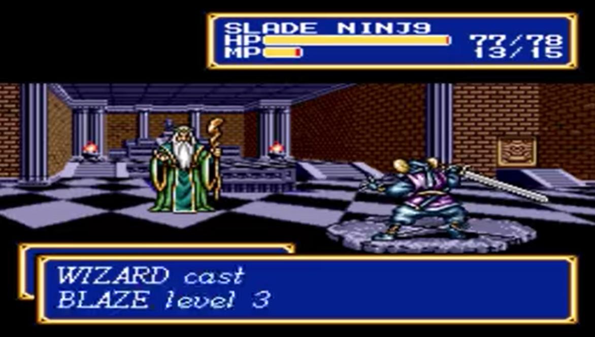 Wizard (Shining Force II enemy)