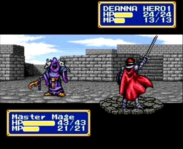 Master Mage (Shining Force CD)