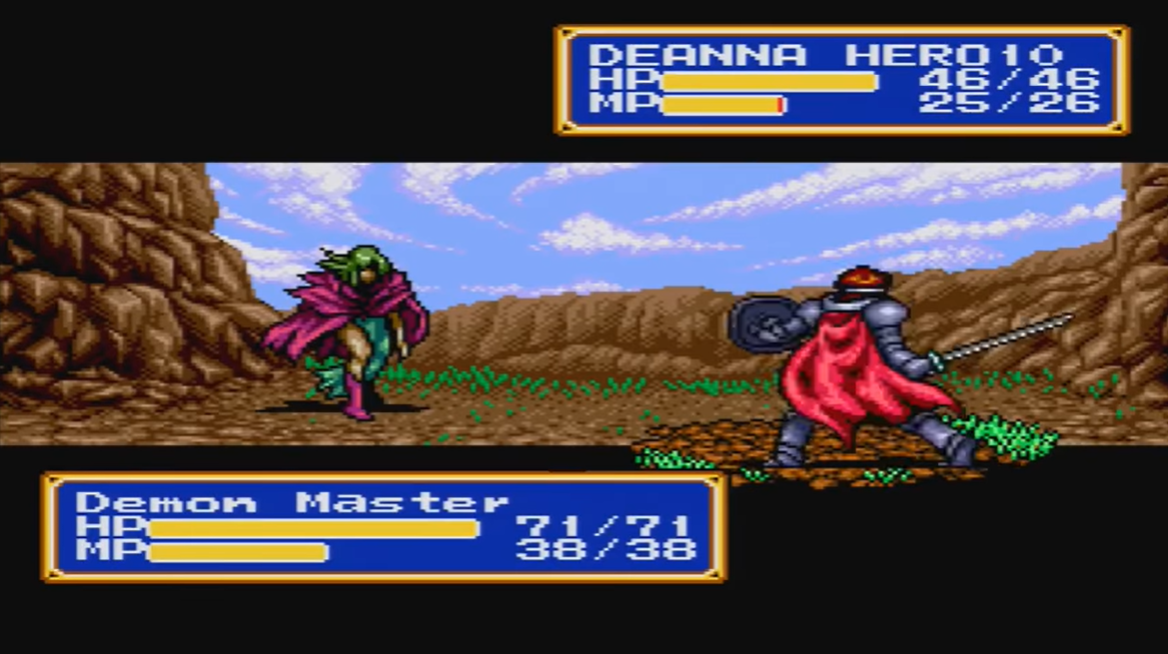 Demon Master (Shining Force CD)