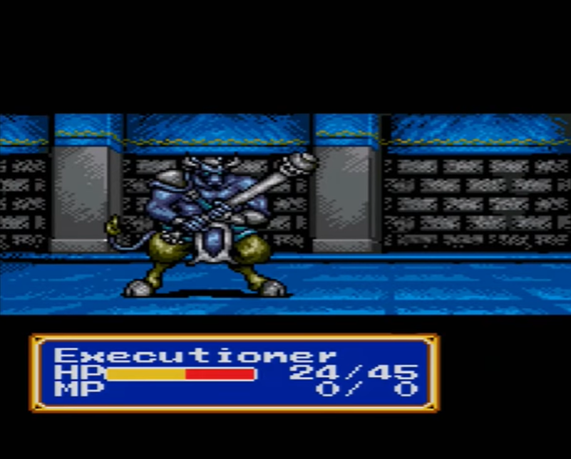Executioner (Shining Force CD)