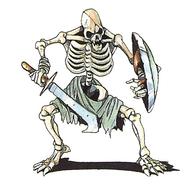 SF Armed skeleton