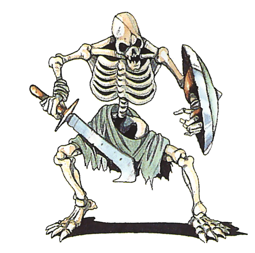 Armed Skeleton