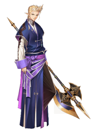 Lesti in Shining Resonance.