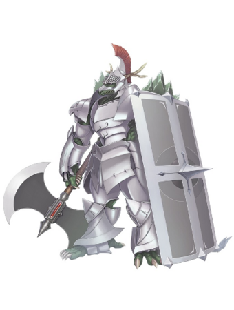 Lazarus in Shining Blade.