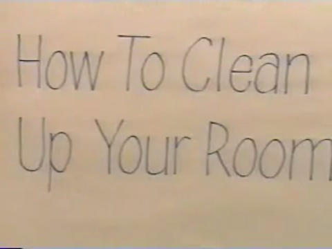 How to Clean Up Your Room