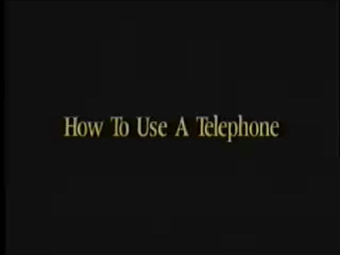 How to Use a Telephone