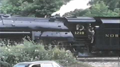 """N&W 1218 """"Steam People"""" - 19-Minutes"""