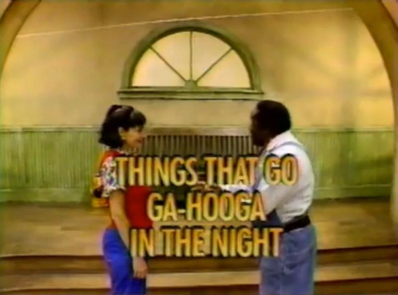 Things that Go Ga-Hooga in the Night