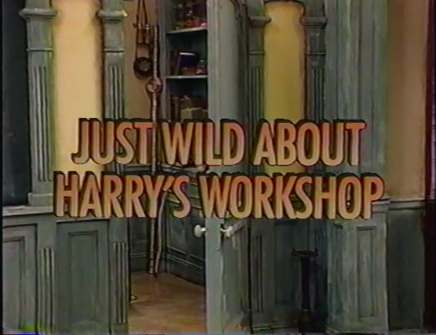Just Wild About Harry's Workshop