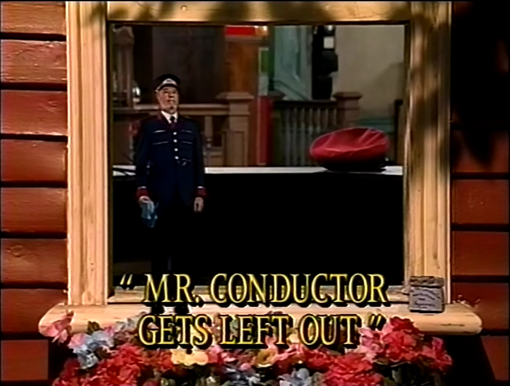 Mr. Conductor Gets Left Out