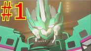 【アニメ1話】新幹線変形ロボ シンカリオン THE ANIMATION 第1話『出発!! シンカリオン E5はやぶさ』 shinkalion
