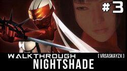 Nightshade Kunoichi PS2 Walkthrough Gameplay 3