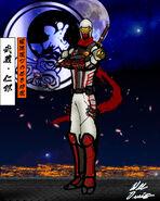 Jiro Musashi the young master ninja of the Obororyu