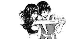 Shun teaching Saki