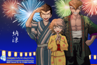 Danganronpa new year card