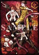 Danganronpa 1.2 Reload Preorder Bonus Smartphone Wallpaper from Happinet Online