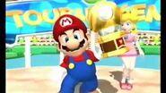 Mario Power Tennis - Mario's Celebration